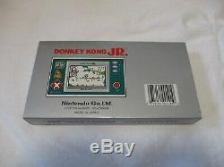 Nintendo Game & Watch Wide Screen DONKEY KONG JR. Boxed with Original Batteries