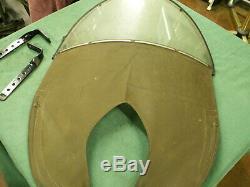 OEM Harley WLA 45 inch flathead WW2 canvas wind screen great original condition