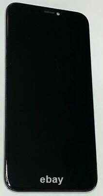 OEM Original Apple iPhone X Black OLED Digitizer Display Touch Screen GRADE B