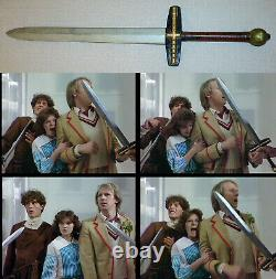 Old Vintage Sword Rare Doctor Who original screen used TV prop Dr Who COA Weapon