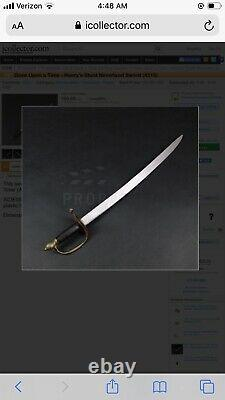 Once Upon A Time HENRYS (Stunt) Sword ABC TV PROP 4315 COA On Screen Used 33