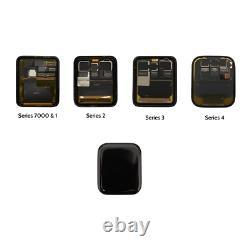 Original Apple Watch 7000 Series 1 2 3 4 5 Replacement Digitizer LCD Screen
