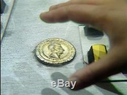 Original Doctor Who screen used PROP Coin 1987 Dr. Who TV Memorabilia COA BBC