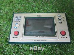 Original Nintendo Game and Watch PP-23 Popeye wide screen From Japan