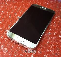 Original Silver LCD Display Screen & Frame for Samsung Galaxy S7 G930F Genuine