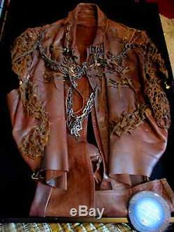 Original Stargate Alantis Prop Ford's Leather Jacket SCREEN USED C. O. A