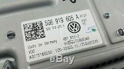 Original VW Golf 7 5G Discover Media Touchscreen 8 Bedieneinheit 5G6919605A