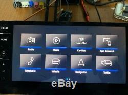 Original. VW Golf 7 GTI 5G Facelift control unit screen display Navi 5G6919606