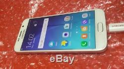 Original White LCD Display Screen with Frame for Samsung Galaxy S6 G920F Genuine