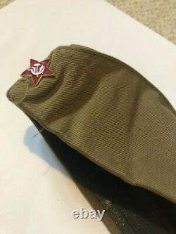 Original screen used movie prop. Enemy at the Gates hat worn by Jude Law