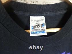 Original vtg RARE 90s 1990S SPAWN Screen Stars Tag Black Graphic T Shirt XL