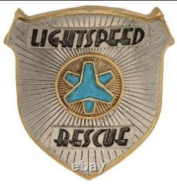 POWER RANGERS Lightspeed Rescue Badge screen used ORIGINAL