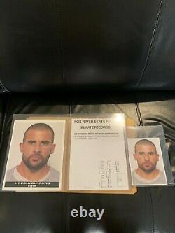 PRISON BREAK SCREEN USED TV Prop Files Michael Scofield Lincoln Burrows and TBag