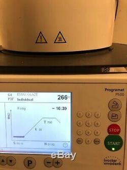 PROGRAMAT P500 IVOCLAR DENTAL CERAMIC FURNACE, Touch Screen with original vacuum