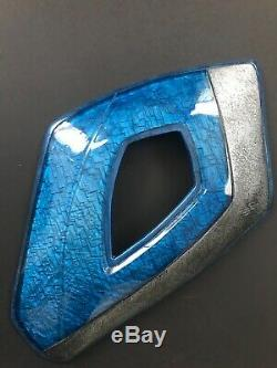 Power Rangers screen used prop WETA Workshop Blue Ranger armor costume