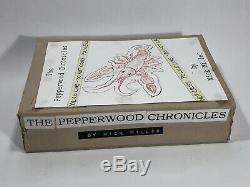 RARE NEW GIRL Screen Used PEPPERWOOD CHRONICLES BOOK prop Zooey Deschanel