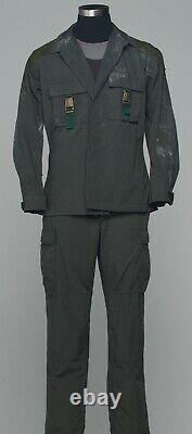 SCREEN USED Battlestar Galactica B&C DISTRESSED Battle Uniform Costume
