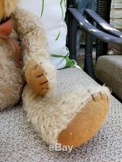 SCREEN USED MOVIE HERO-PROP CURED TEDDY BEAR- PETER PAN 2003 Jeremy Sumpter