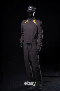 STAR TREK SCREEN USED UNIFORM PROP STARFLEET PILOT FROM INTO DARKNESS WithCOA