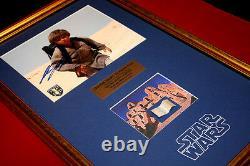 STAR WARS Screen Used Prop TATOOINE LUKE HOME, Signed JAKE LLOYD, DVD COA UACC