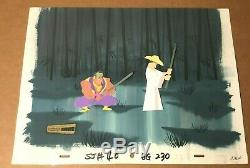Samurai Jack 2003 SCREEN-USED Original Production Background obg art Tartakovsky