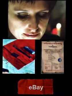 Saw III Franchise Horror Film Amanda Screen Used Prop Jigsaw Studio Coa Twisted