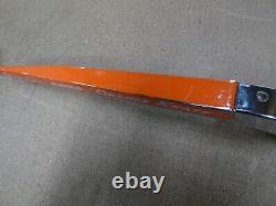Schwinn 1970 Stingray Orange Krate Coaster Chainguard Original Paint, Screen