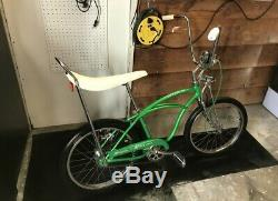 Schwinn Stingray 1964 N4 J-33 RARE Original Lime Green Paint Screening Clean 8+