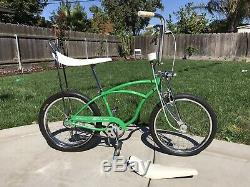 Schwinn Stingray 1964 N4 J-33 RARE Original Lime Green Paint Screening Clean 8+
