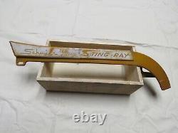 Schwinn Stingray Deluxe 1963 1964 Coppertone Reverse Screen Original Chain Guard
