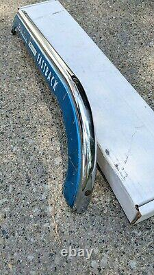 Schwinn Stingray Fastback 5 Speed Chain Guard Original Blue Paint, Silk Screen
