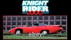 Screen Used KNIGHT RIDER 2000 Hero Car Knight Industries Four Thousand
