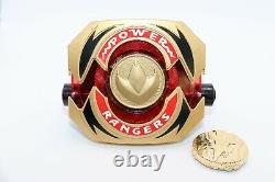 Screen Used Mighty Morphin Power Rangers Green White Ranger Morpher with LOA