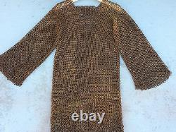 Screen Used Real heavy iron chainmail costume from Major Studio