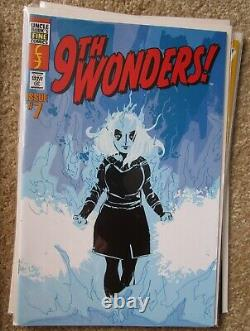 Screen used Heroes 9th Wonder comic book prop lot of 6 (not replicas) lot #2
