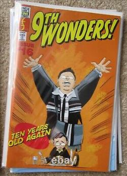Screen used Heroes 9th Wonder comic book prop production made not a replica