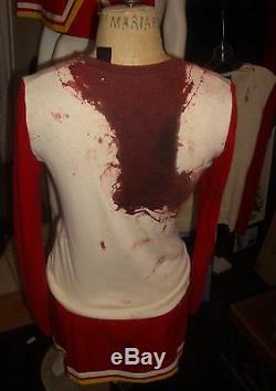 Screen used Heroes Hayden Panettiere Claire Bennet Bloody cheerleader costume