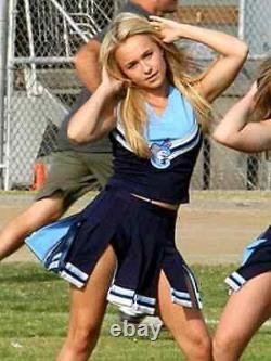 Screen used Heroes Hayden Panettiere Claire season 2 blue Cheerleader costume