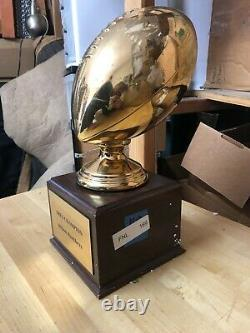 Screen-used Prop FRIDAY NIGHT LIGHTS Dillon Panthers Trophy Screenbid