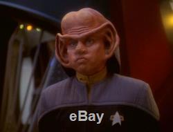 Screen used Star Trek Deep Space Nine Nog worn Starfleet costume shirt lot