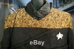 Screen used Star Trek Voyager Alien Tuvix costume worn by actor Tom Wright