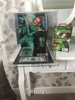 Screen used movie props from Batman forever (THE RIDDLER/JIM CARREY) with COA's