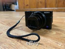 Sony Camera DSC-RX100 VI Zeiss Lens! Box! Touch! Vlogging Screen! Original Box