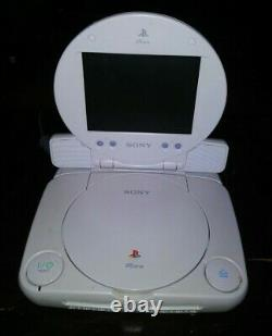 Sony PlayStation 1 PSone Console With Original Box 2 OEM Controllers LCD Screen