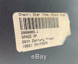 Star Trek Original TV Series Screen Used Chromcraft Scupta Chair Tribbles Spock