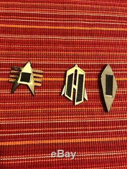 Star Trek Screen Used Com Badge Collection