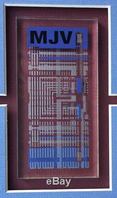Star Trek - Shatner / Kirk Screen-used'isolinear Chip' Prop & Signed Photo