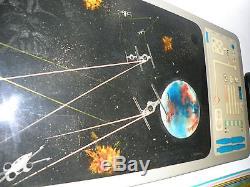 Star War View Screen Resin on Fiberglass Painting