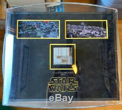 Star Wars New Hope Death Star Large Piece Screen Used Prop Store 100% Original