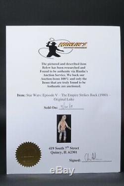 Star Wars Vintage Screen Used Luke Hoth (Restored)